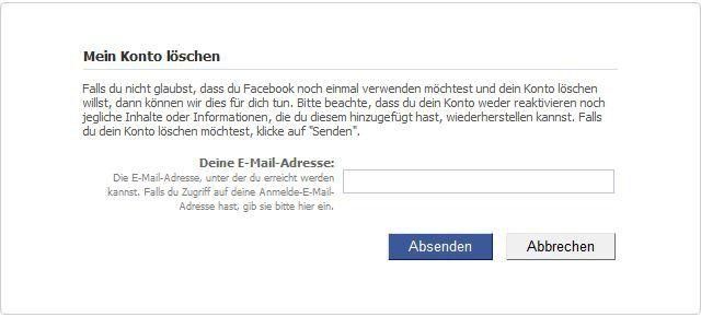 Mein facebook geht nicht